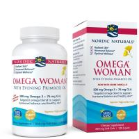 Nordic Naturals, Omega Woman, With Evening Primrose Oil, 830 mg - 120 Soft Gels