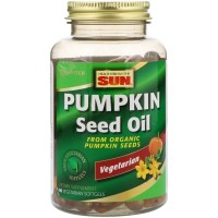 Health From The Sun, Pumpkin Seed Oil - 90 Vegetarian Softgels