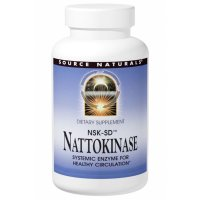 Source Naturals, Nattokinase NSK-SD, 100 mg - 30 Capsules