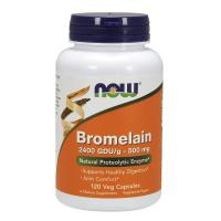 Now Foods, Bromelain, 500 mg - 120 Veg Capsules