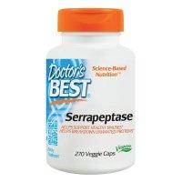 Doctor's Best, Best Serrapeptase, 40,000 SPU - 270 Veggie Caps