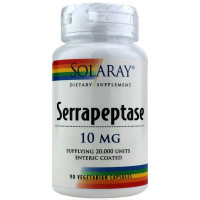 Solaray, Serrapeptase, 10 mg - 90 Veggie Caps