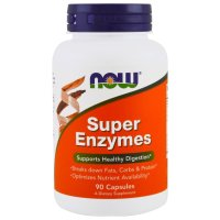 Now Foods, Super Enzymes - 90 Capsules