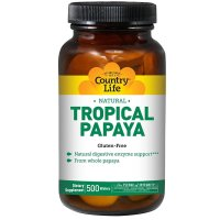 Country Life, Natural, Tropical Papaya - 500 Wafers