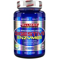 AllMax Nutrition, Digestive Enzymes + Protein Optimizer - 90 Capsules