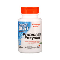 Doctor's Best, Proteolytic Enzymes - 90 Delayed Release Veggie Caps