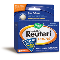 Nature's Way, Primadophilus Reuteri Pearls - 60 Capsules