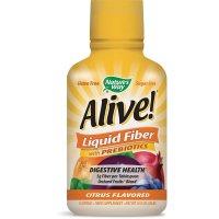 Nature's Way, Alive! Liquid Fiber with Prebiotics Citrus Flavor - 16 fl oz (32 servings)