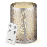 ODGA, Aromatherapy Essential Oil Ultrasonic Diffuser, Whisper Quiet Cool Mist Humidifier -