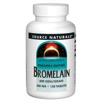 Source Naturals, Bromelain, 600 GDU per Gram, 500 mg - 120 Tablets