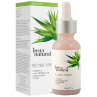 InstaNatural, Retinol Vitamin A Serum with Hyaluronic Acid + Vitamin C, Anti-Aging - 1 fl