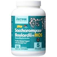 Jarrow Formulas, Saccharomyces Boulardii + MOS, 5 Billion - 180 Veggie Caps