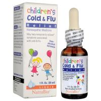 Natra Bio, Childrens Cold & Flu Relief - 1 oz Liquid (30 ml)