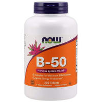 Now Foods, B-50 - 250 Tablets