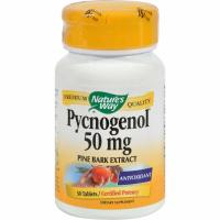 Nature's Way, Pycnogenol, Pine Bark Extract, 50 mg - 30 Tablets