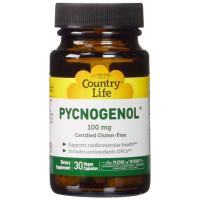 Country Life, Pycnogenol, 100 mg - 30 Veggie Caps