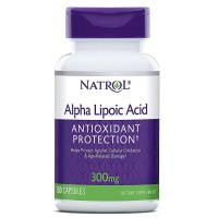 Natrol, Alpha Lipoic Acid, 300 mg - 50 Capsules
