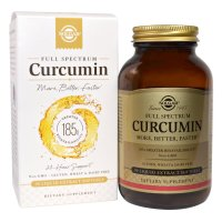 Solgar, Full Spectrum Curcumin - 90 Liquid Extract Softgels