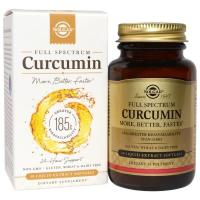 Solgar, Full Spectrum Curcumin - 30 Liquid Extract Softgels