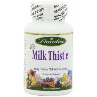 Paradise Herbs, Milk Thistle - 60 Vegetarian Capsules