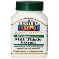 21st Century, Milk Thistle Extract - 60 Veggie Caps