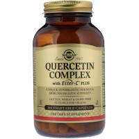 Solgar, Quercetin Complex, with Ester-C Plus - 100 Vegetable Capsules