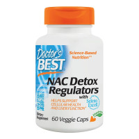 Doctor's Best, Best NAC Detox Regulators - 60 Veggie Caps