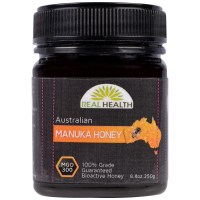 Real Health, Australian Manuka Honey, MGO 300 - 8.8 oz (250 g)