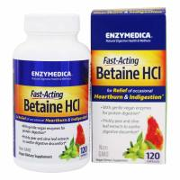 Enzymedica, Betaine HCL- 120 Capsules