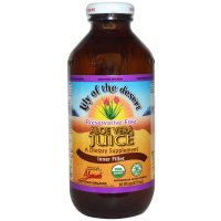 Lily of the Desert, Organic, Aloe Vera Juice, Inner Fillet, Preservative Free - 16 fl oz (