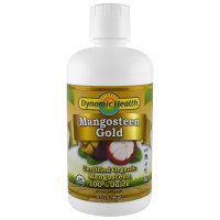 Dynamic Health  Laboratories, Certified Organic, Mangosteen Gold - 32 fl oz (946 ml)