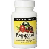 Source Naturals, Pomegranate Extract, 500 mg - 60 Tablets