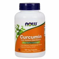 Now Foods, Curcumin - 120 Veg Capsules