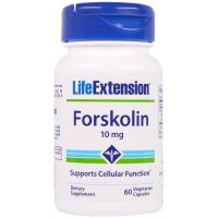 Life Extension, Forskolin, 10 mg - 60 Veggie Caps