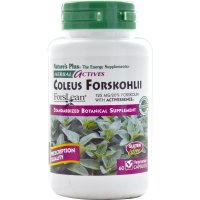 Nature's Plus, Herbal Actives, Coleus Forskohlii, 125 mg - 60 Veggie Caps