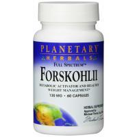 Planetary Herbals, Forskohlii, Full Spectrum, 130 mg - 60 Capsules