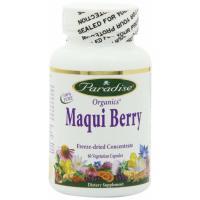 Paradise Organics, Maqui Berry - 60 Veggie Caps