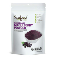 Sunfood, Raw Organic Maqui Berry Powder - 8 oz (227 g)
