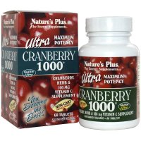 Nature's Plus, Ultra Cranberry 1000 - 60 Tablets