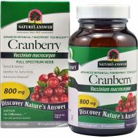 Nature's Answer, Cranberry, 800 mg - 90 Vegetarian Capsules