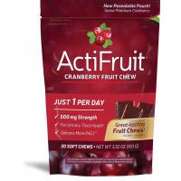 Enzymatic Therapy, ActiFruit, Cranberry Supplement - 20 Soft Chews