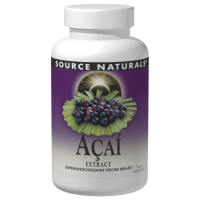 Source Naturals, Acai Extract, 500 mg - 120 Capsules