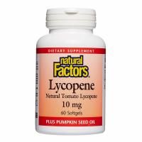 Natural Factors, Lycopene, 10 mg - 60 Softgels