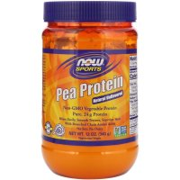 Now Foods, Sports, Pea Protein, Natural Unflavored - 12 oz (340 g)