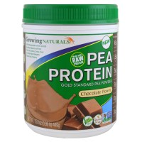 Growing Naturals, Pea Protein, Chocolate Power - 15.8 oz (449 g)