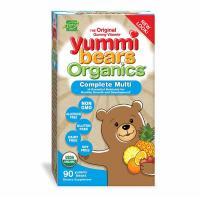 Hero Nutritional, Yummi Bears Organics, Complete Multi, Organic Fruit Flavors - 90 Yummi B
