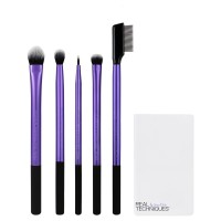 Real Techniques, Enhanced Eye Brush - 5 Piece Set