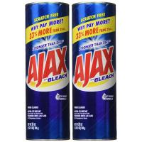 Ajax, Powder Cleanser with Bleach - 2 pk (28 oz)