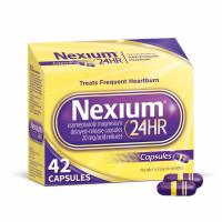 Nexium, 24HR Heartburn Relief Acid Reducer, 20 mg - 42 Capsules