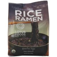 Lotus Foods, Rice Ramen Noodle, Forbidden Rice - 4 Packs, 10 oz (283 g)